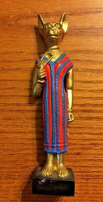 Ancient Egyptian Reproduction Bast Bastet Cat Goddess Statue  Sacred Source