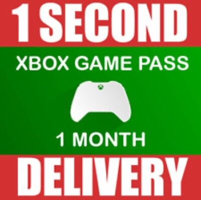 1 MONTH XBOX GAME PASS MEMBERSHIP (2x 14 Day) Microsoft Xbox One/ 360 -- INSTANT