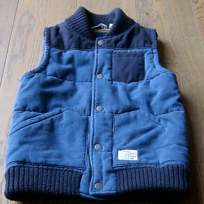 Country Road  Boys Denim Puffer Vest Sz 12
