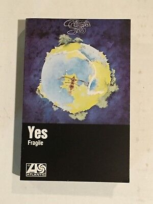 YES Cassette Tape - FRAGILE - 1972 AC - 7211 Rock Tested Canada