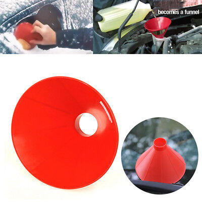 Car Windshield Magic Ice Scraper Tool Cone Shaped Outdoor Funnel Remover Snow S