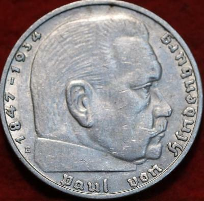 1938E Germany 2 Mark Silver Foreign Coin
