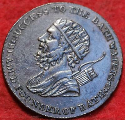 1794 18th Century Somerset 1/2 Penny Token