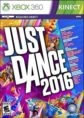 Xbox 360 Game Just Dance 2016 Brand New And Sealed
