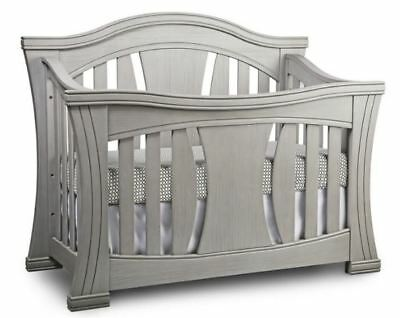 Baby Appleseed Palisade 4-in-1 Convertible Crib in Morning Mist