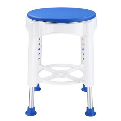 Safety Medical Bath Stools Rotating Shower Seat Height Adjustable Swivel Chair