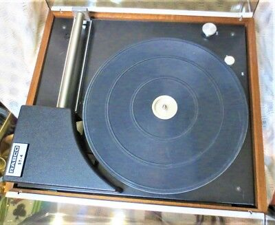 Rabco St-4 Turntable Very Rare. Not Working Parts Or Project. Sold As Is.