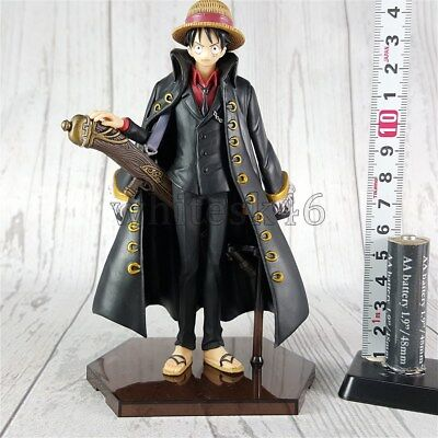Monkey D Luffy Figure Super One Piece Styling Strong World Anime Authentic /5913