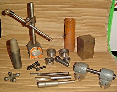 Machinist MAGNETIC BASE INDICATOR Greenlee Knockout Punch Lathe Parts & More LOT