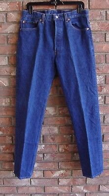 Vintage 1990's (?) Levi's 501xx Jeans 35/34 (32/31) Made in USA Top Button 524