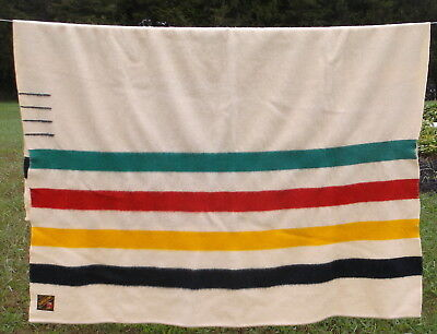 Trapper Point 4 Point All Wool Blanket