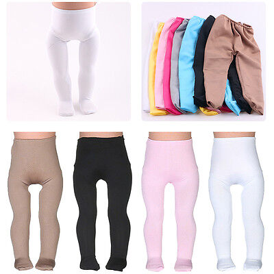 """2019 Doll Tights Clothes for 18"""" inch Girl Doll Pants Accessories Baby Toy Gift"""