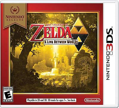 The Legend of Zelda: A Link Between Worlds (Nintendo 3DS, 2013) New & Sealed!