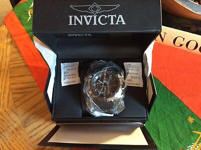 Invicta Star Wars Darth Vader 52mm Chronograph Limited Edition Black Watch, New!