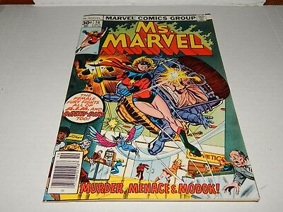 HOT MOVIE VERY HIGH GRADE Bronze Age Comic Ms. Marvel # 10   9.4 or Better Cd.