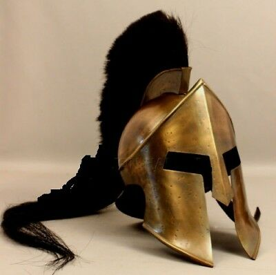 Medieval 300 Spartan Movie King Leonidas Roman Helmet Greek Liner Reenactment