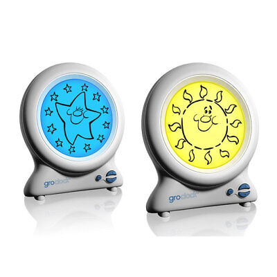 GroClock sleep training clock for toddlers