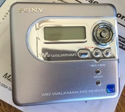 Sony MZ-NH600 Hi-MD MiniDisc Player Recorder *BRAND NEW* Boxed less 5%