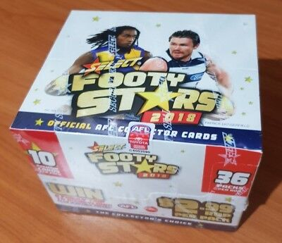 2018 AFL Footy Stars Trading Cards (Select Australia) Sealed Box