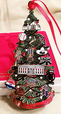 2015 The White House Historical Assn Lighted Christmas Ornament Calvin Coolidge