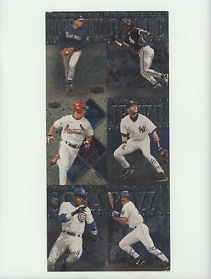 1999 Skybox Metal Universe Samples RBDJSP New York Yankees Mets Seattle Mariners