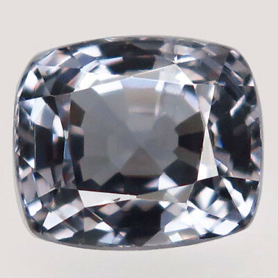2.46ct.Perfect Luster! 100%Natural Silver Purple Spinel Unheated 8x7mm.AA Nr!.