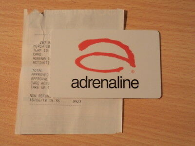 Adrenaline Gift Card $50 - Unwanted gift