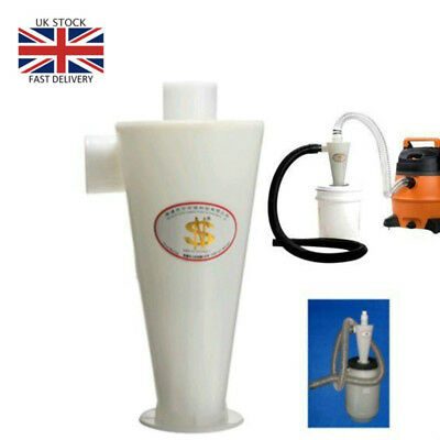 Cyclone Dust Collector Separator Powder Filter High for Vacuums UK Sold
