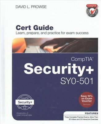 CompTIA Security+ SY0-501 Cert Guide by David, L. Prowse 9780789758996