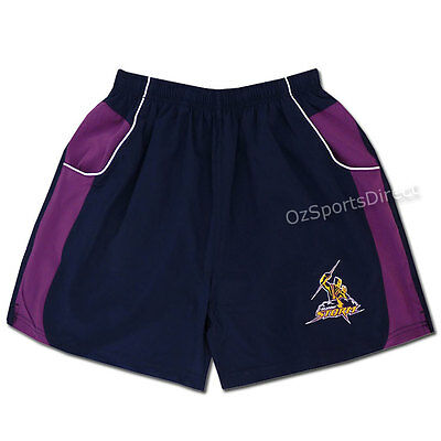 Melbourne Storm 2015 Winter Training Shorts - Youth - 8 Years