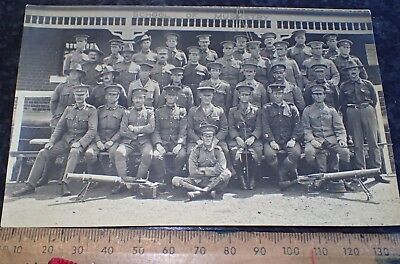 Original WW1 Australian Photo NO 12 Lewis gun crews 1918