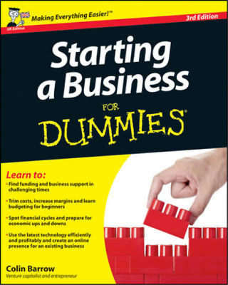 Starting a Business For Dummies, Barrow, Colin, Used; Good Book