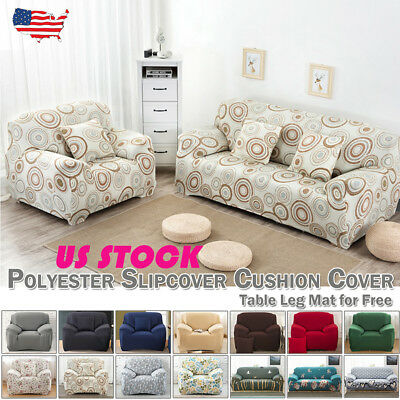 1 2 3 4 Seater Chair Loveseat Sofa Cover Couch Slipcover Stretch Sofa Protector