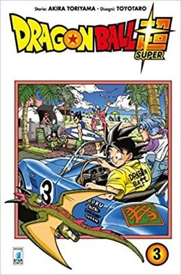 MANGA Dragon Ball Super Nº3 NUOVO