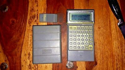 psion 2 model LZ64 vintage pda, good working order with 32K Datapak
