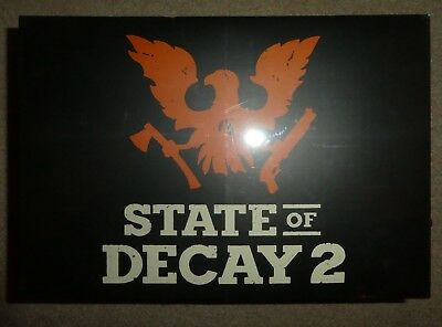 Xbox one 1 Microsoft State of Decay 2 Collectors edition sealed limited