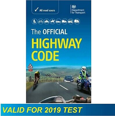 Official Highway Code DVSA Book Latest Rule Road Traffic Signs Theory Test Guide