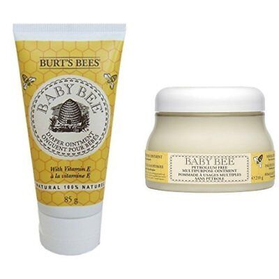 NEW Burt S Bees Baby Bee Diaper Ointment And Multipurpose Ointment Duo Set GIFT