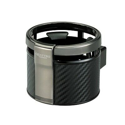 JDM Cup Holder Can Holder Carmate DZ265 Carbon Look Free Shipping from JAPAN