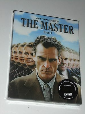 THE MASTER  Blu Ray STEELBOOK LENTICULAR PLAIN ARCHIVE Sealed 659 of 1800