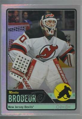 2012 13 O Pee Chee Rainbow Foil 7 Martin Brodeur New Jersey Devils