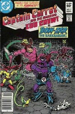 Captain Carrot & The Zoo Crew! (Vol 1) #   7 (VryFn Minus-) (VFN-) DC Comics AME