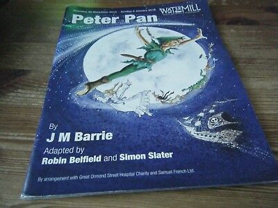 2014  Theatre  Programme  - Peter  Pan  -   West  Berkshire Playhouse    Vgc
