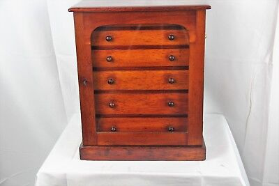 Antique Army Nave C.S.L. Mahogany and Pine Humidor