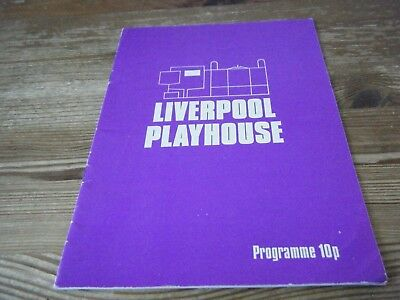 1977   Theatre  Programme  - Old Tyme Music Hall -  Liverpool  Playhouse   Vgc