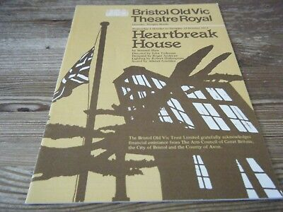 1975  Theatre  Programme   - Heartbreak  Hotel -  Bristol Old Vic  Theatre Royal