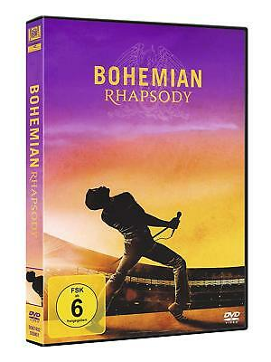 Bohemian Rhapsody [DVD] *NEU* DEUTSCH Queen Film Freddie Mercury