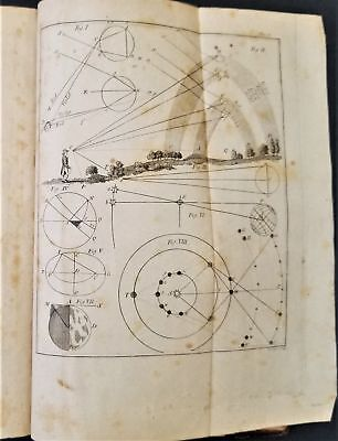 1815 antique TREATISE USE OF GLOBES illus Terrestrial Solar System Earth Theory+