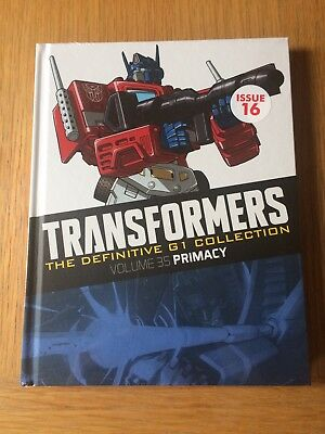 Transformers The Definitive G1 Collection Volume 35 Primacy (SEALED)