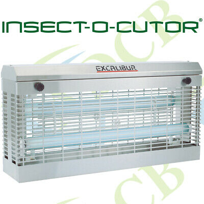 Electric Fly Zapper Bug Killer Trap Uv Pest Catcher Kitchen Shop Insect